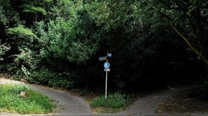 El lugar donde fue hallada la joven violada en Muelheim.