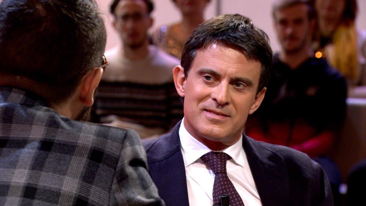 Manuel Vals con Risto Mejide en la nueva entrega de Chester.
