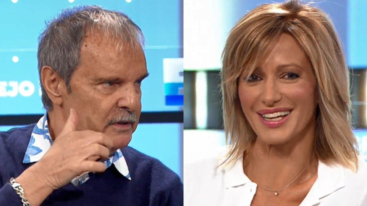 Jesús Mariñas es retroba amb Susanna Griso després de les seves crítiques a la presentadora