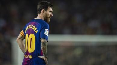 Messi y mordiente