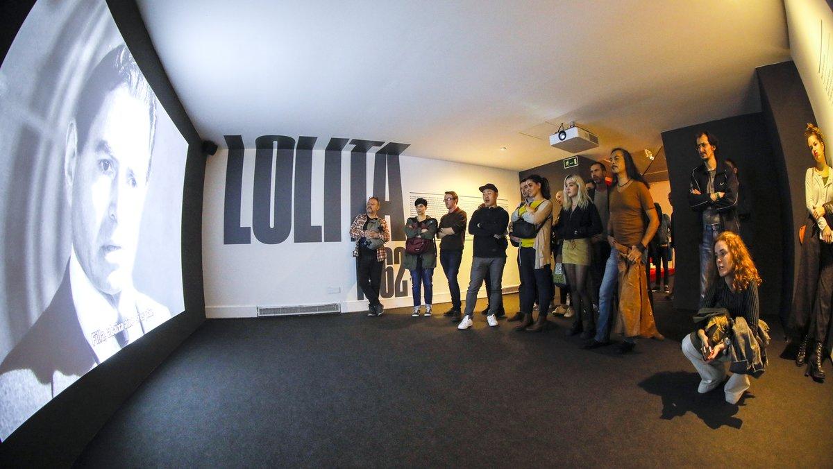 En la exposición pueden verse fragmentos de los filmes de Kubrick.