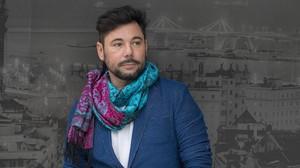 Miguel Poveda en Barcelona, su ciudad, donde este domingo vuelve a actuar en el Festival Mil.lenni.