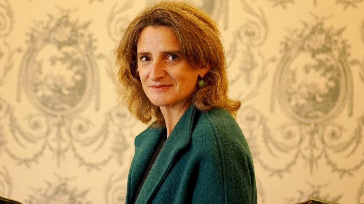 La ministra de Transición Ecológica, Teresa Ribera