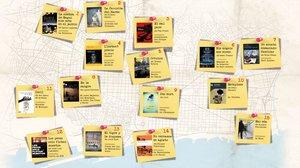 El crim (literari) s'estén a tots els racons de Barcelona