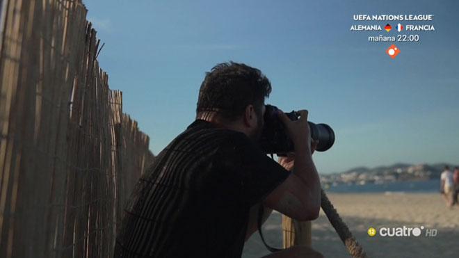 Clics de càmera a la platja
