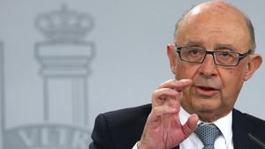 Hisenda admet que la Generalitat tenia diners fora del control de Montoro per a l'1-O