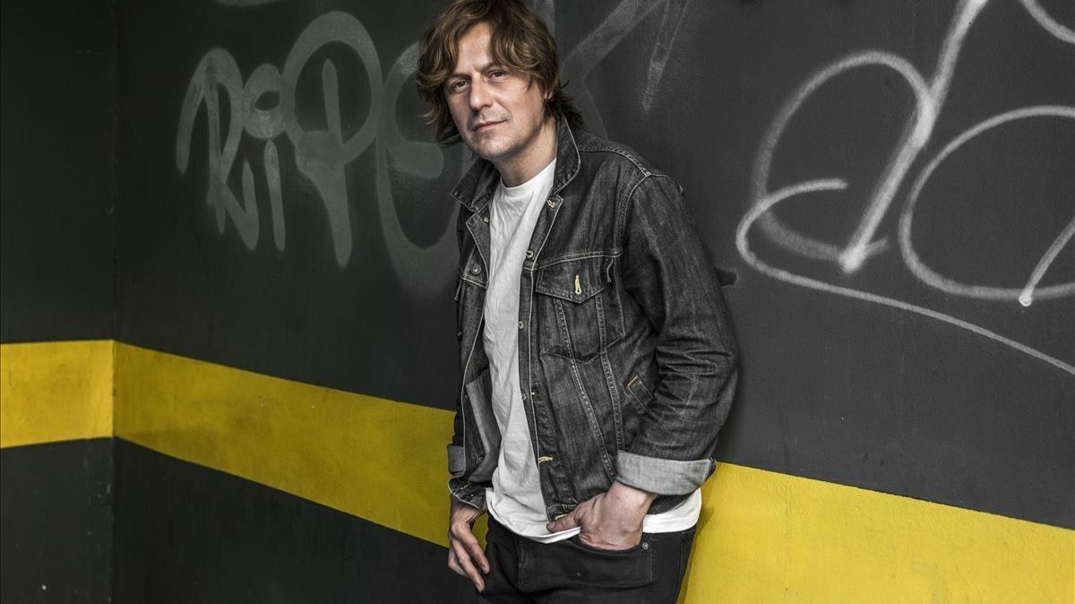 El músico asturiano Nacho Vegas, fotografiado en Barcelona, esta semana.