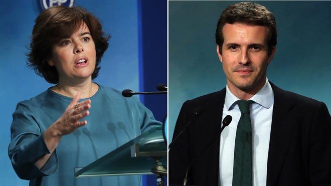 Santamaría i Casado disputaran la batalla final per succeir Rajoy