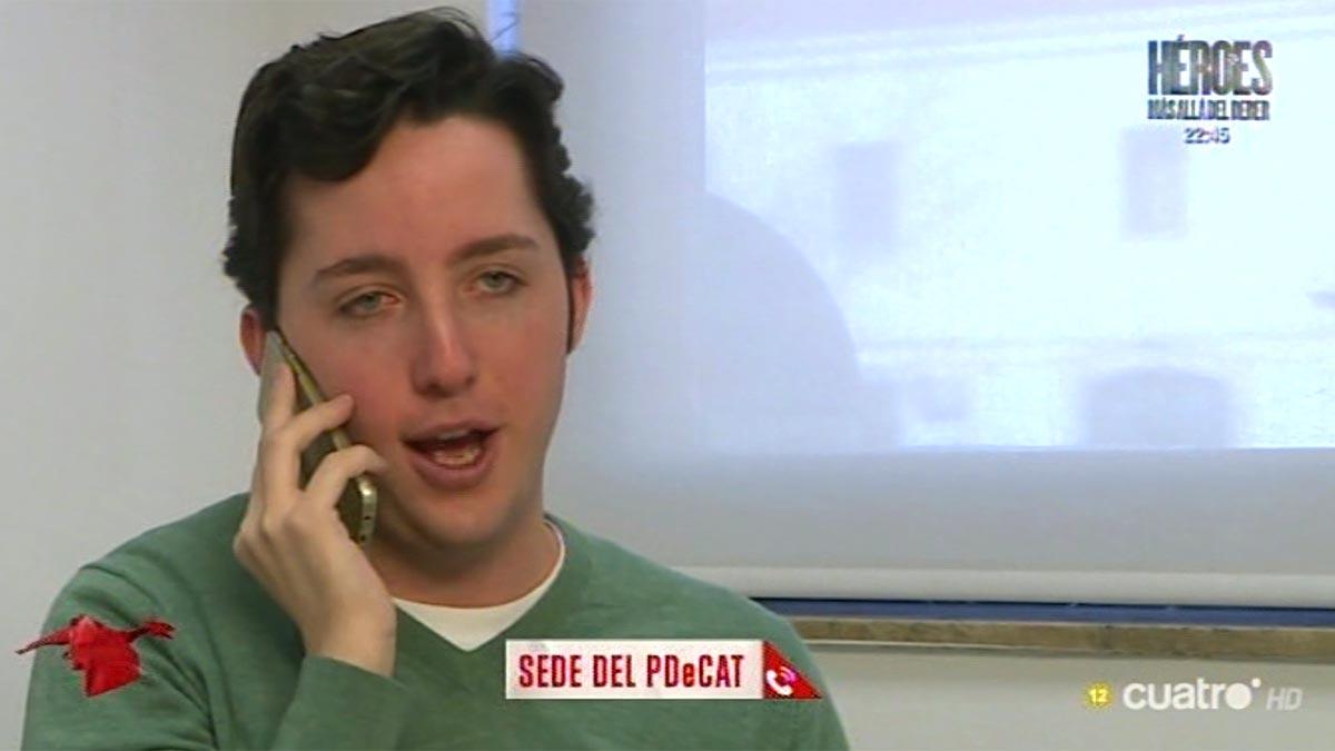 Nicolás ofreciéndose al PDeCAT (Cuatro).