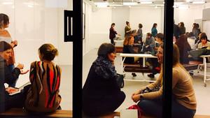 Nueva tipología de aula en la Barcelona School of Management.