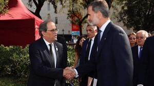 Torra demana fomentar consultes sobre la monarquia a tot Espanya