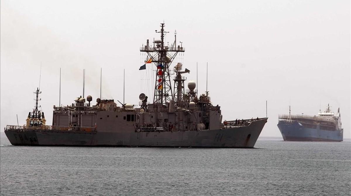España tendrá el cuartel general de 'operación Atalanta' contra piratería