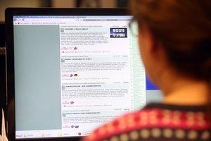 Cada vez es más frecuente encontrar trabajo a través de las páginas web especializadas