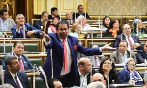El Parlamento egipcio aprueba las nuevas enmiendas constitucionales.