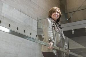 Combativa 8La periodista y escritora bielorrusa Svetlana Alexiévich,en el CCCB.