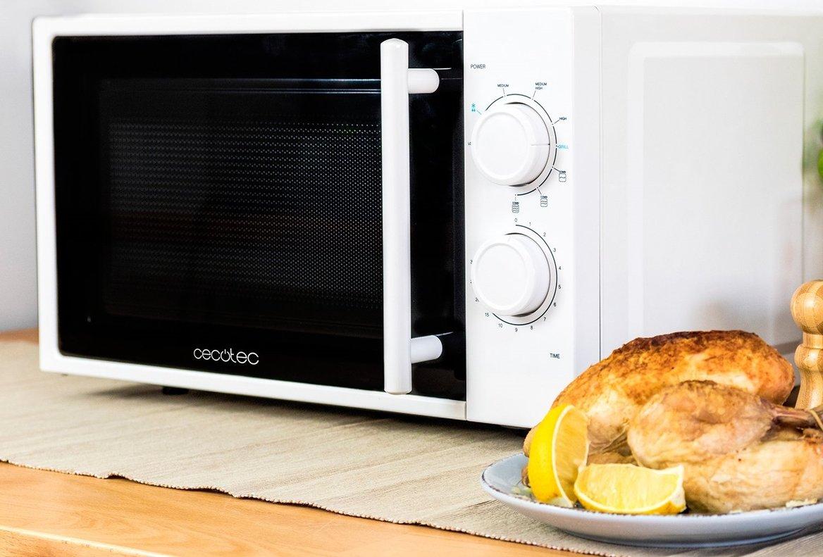 Microondas, el gran aliado de la cocina