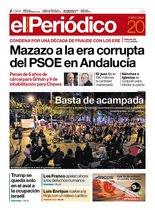 La portada de EL PERIÓDICO del 20 de noviembre del 2019