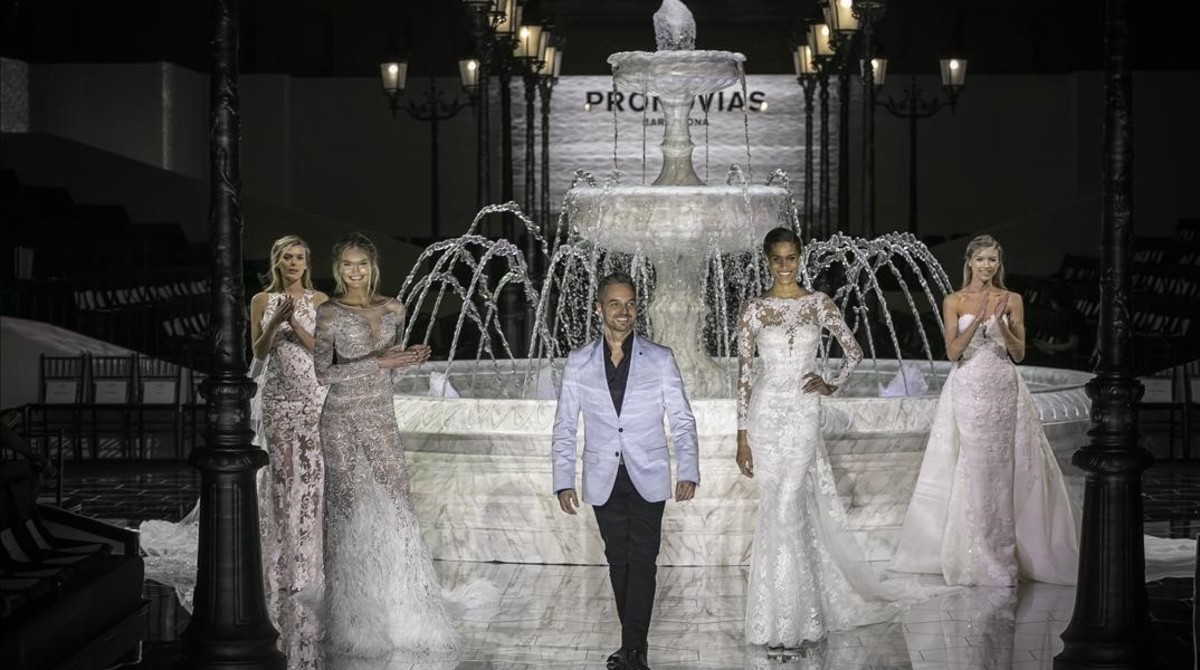Pronovias echa el cierre a la pasarela de la Barcelona Bridal Week
