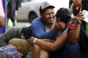 En la ciudad de Puebla, las autoridades esperaban durante el día la llegada de unas 4.500 personas en los albergues.