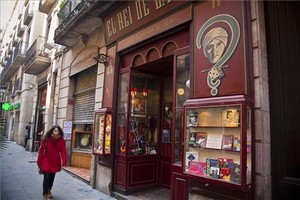 La fachada de esta tienda inaugurada en 1881 en la calle Princesa.