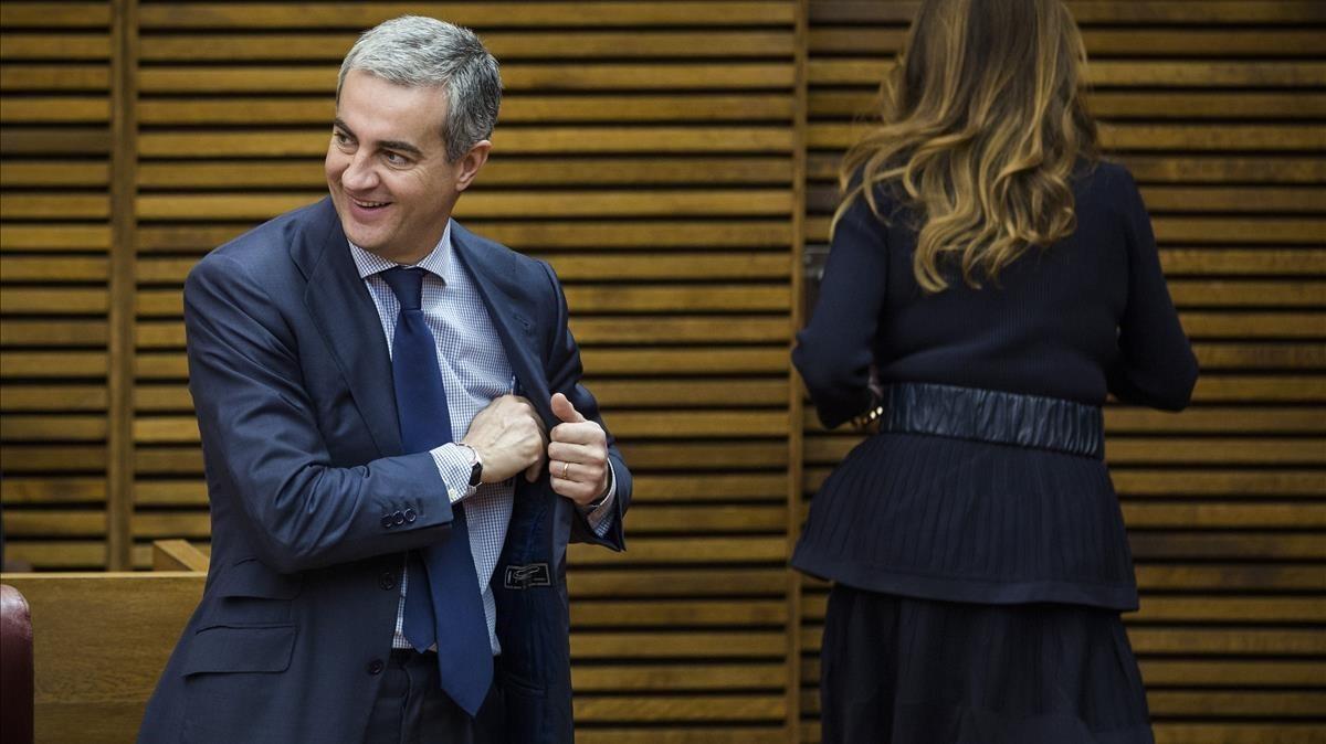 Ricardo Costa, en su etapa de diputado del PP valenciano, en el 2014.