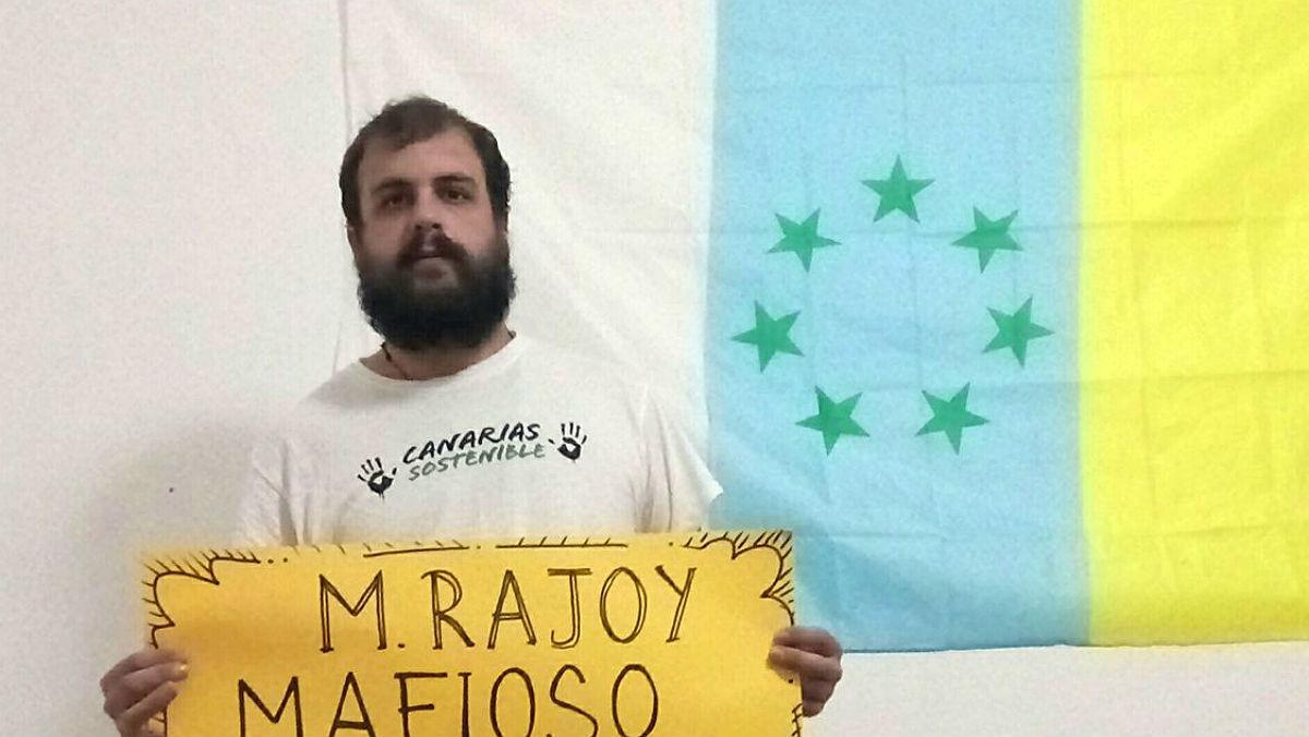 Roberto Mesa, en una imagen de su perfil de Facebook.