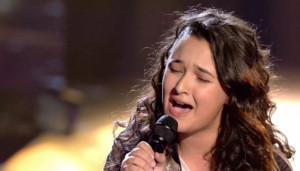 Rocío, la ganadora de La voz kids 3.
