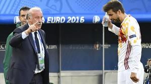 """Del Bosque: """"Itàlia ha sigut millor"""""""