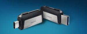 USB de doble conector de SanDisk.