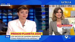 """Sandra Barneda visita Antena 3 y recuerda sus inicios en la cadena: """"Hay más imágenes para ti"""""""