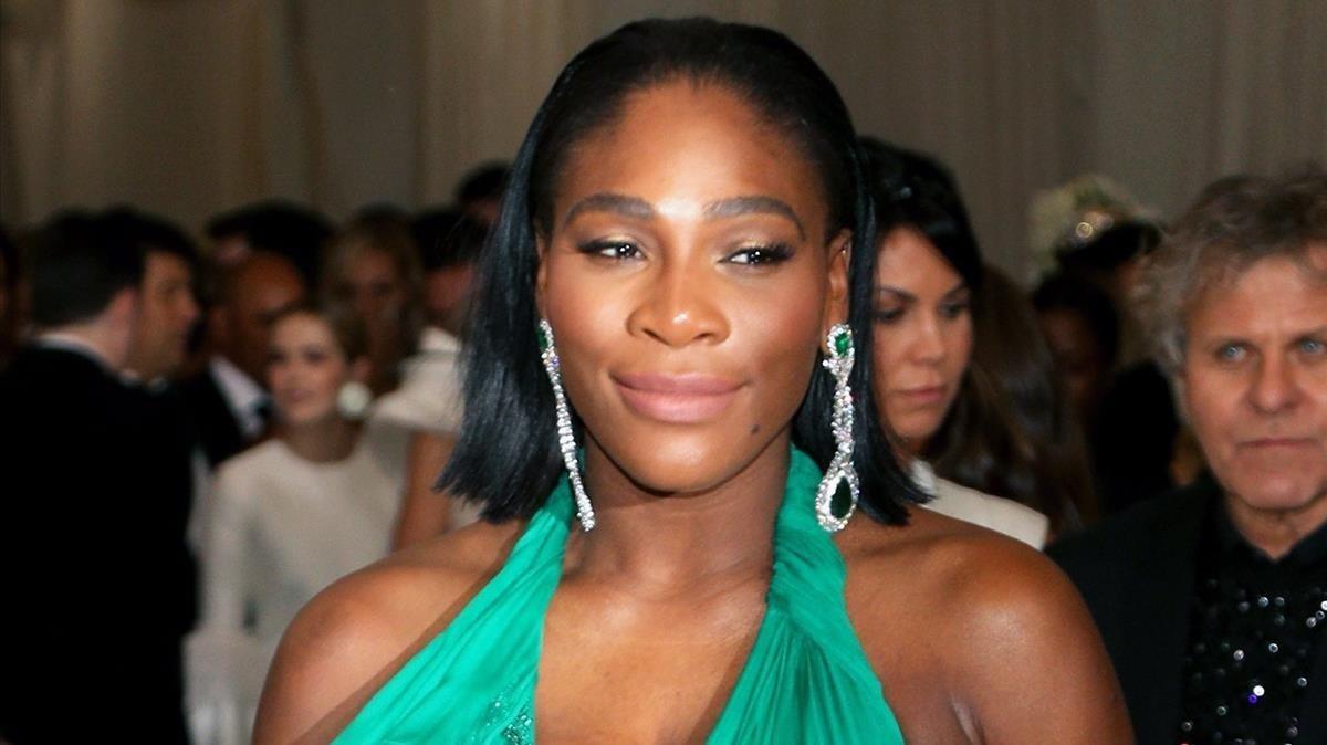 Serena Williams, elpasado mes de mayo, en Nueva York.