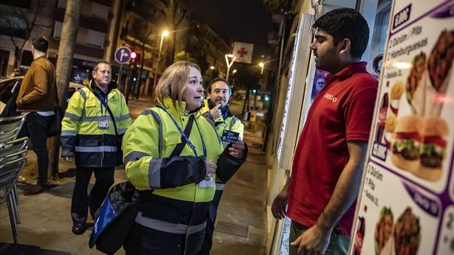 El sereno ja patrulla pels carrers de Santa Coloma