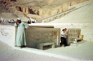 Tomba de Tutankamon a la Vall dels Reis.