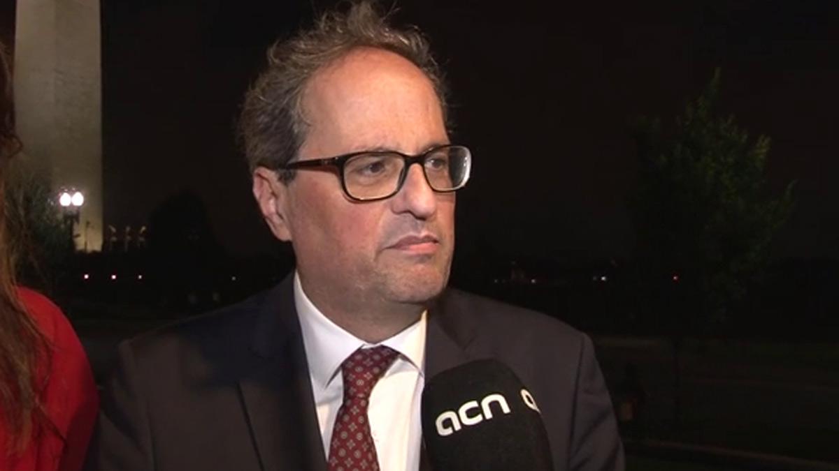 Torra acusa al embajador Morenés de pronunciar un discurso ofensivo y de llamarle mentiroso.