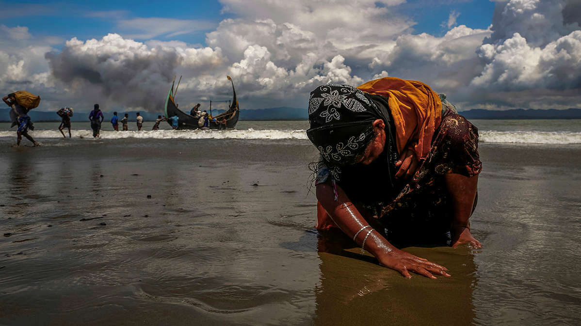 Una isla flotante: ¿El nuevo hogar para los rohingya?
