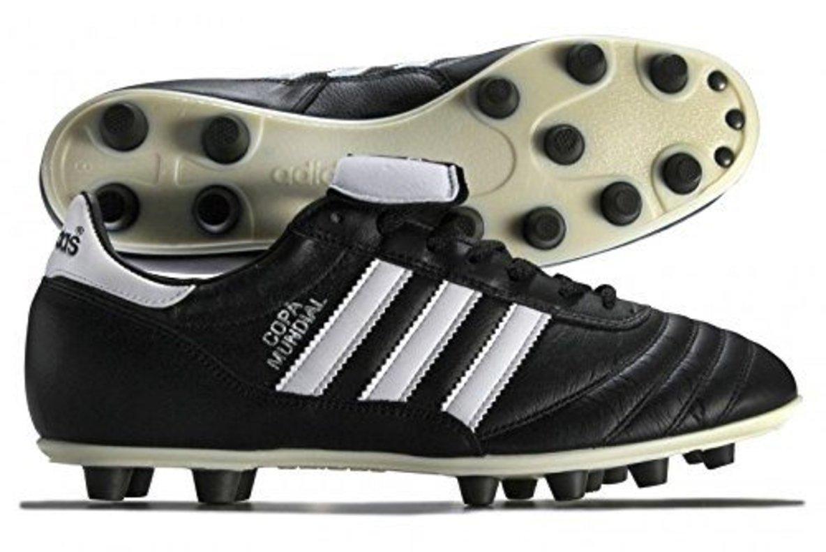 Unas botas Copa Mundial.