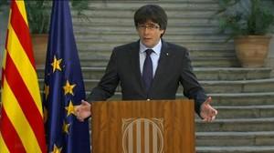 El 'expresident' de la Generalitat Carles Puigdemont.