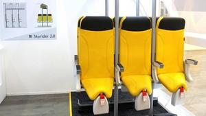 Viajar en avión de pie: llegan los asientos verticales