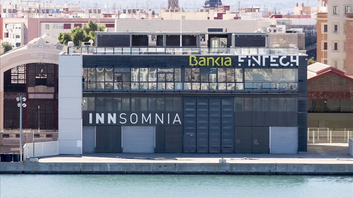 Sede de Bankia Fintech en Valencia.