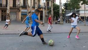 Un nuevo estudioanalizar el porqué el futbol se convierte en algo tan importante para los niños