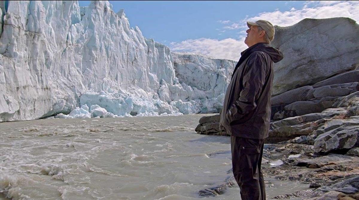 Al Gore, en un fotograma del documental Una verdad muy incómoda: ahora o nunca.