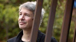 El escritor francés Éric Vuillard, en Barcelona.