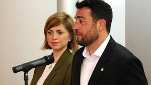 Âlex Pastor, nuevo alcalde de Badalona.