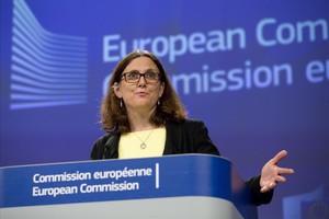 Entren en vigor els aranzels de la UE als EUA