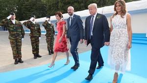 El treball de sapa de Trump amb l'OTAN