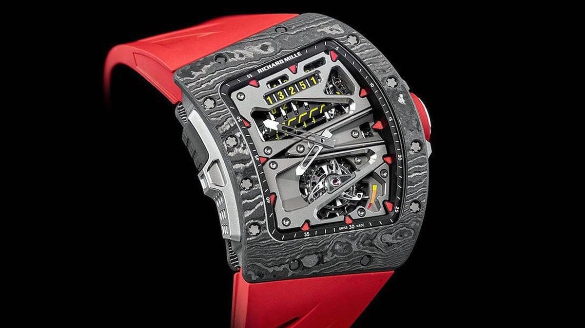 Un reloj de la marca de alta gama Richard Mille.
