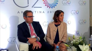 """El G-20 ve """"urgente"""" reformar la Organización Mundial del Comercio"""