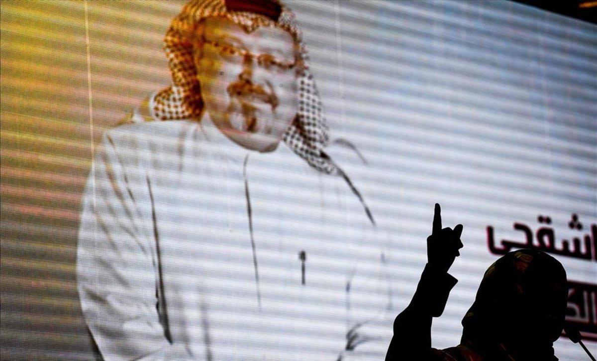 Grabación en la que puede verse a Jamal Khashoggi.