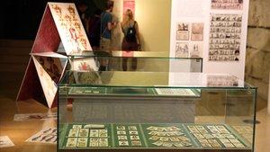 Un aspecto de la exposición en el Arxiu Històric.