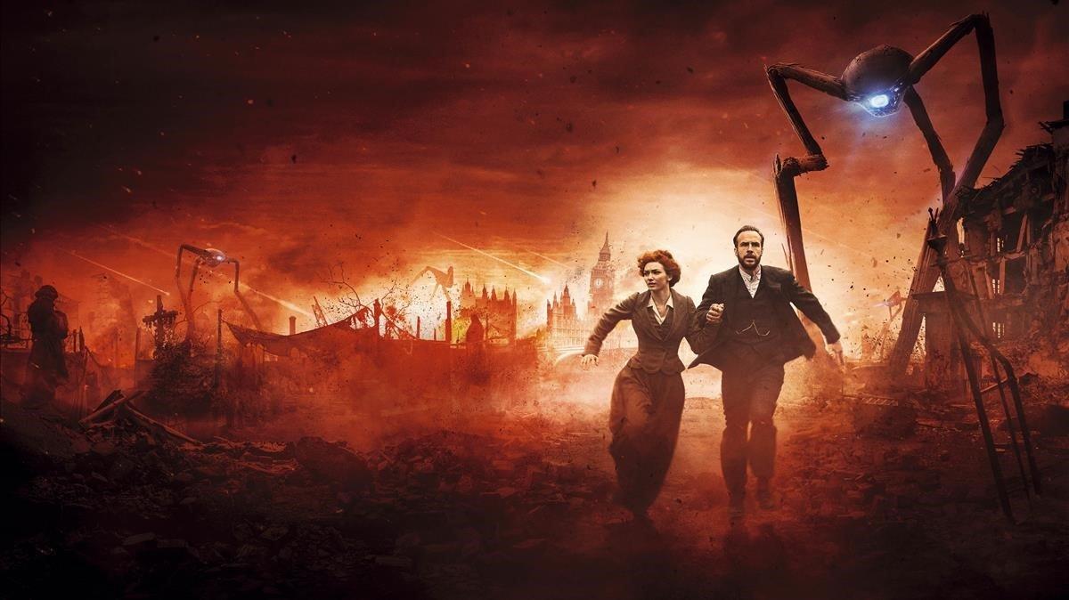 Imagen promocional de 'La guerra de los mundos'.